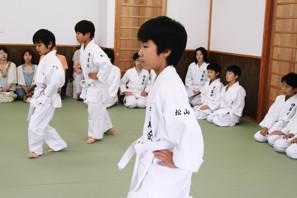画像:子供クラス発表会