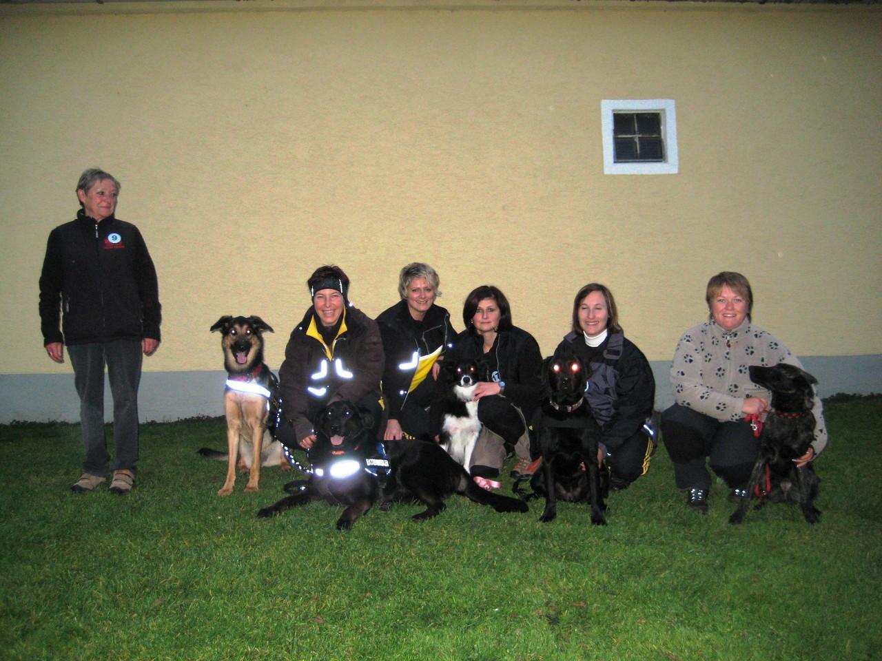 OB-Prüfung bei den Fetzigen Hund' 2009