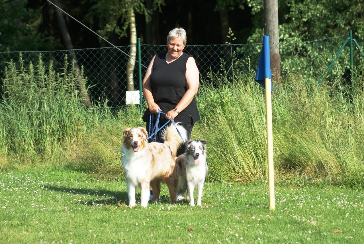 Doris mit ihrem Duo