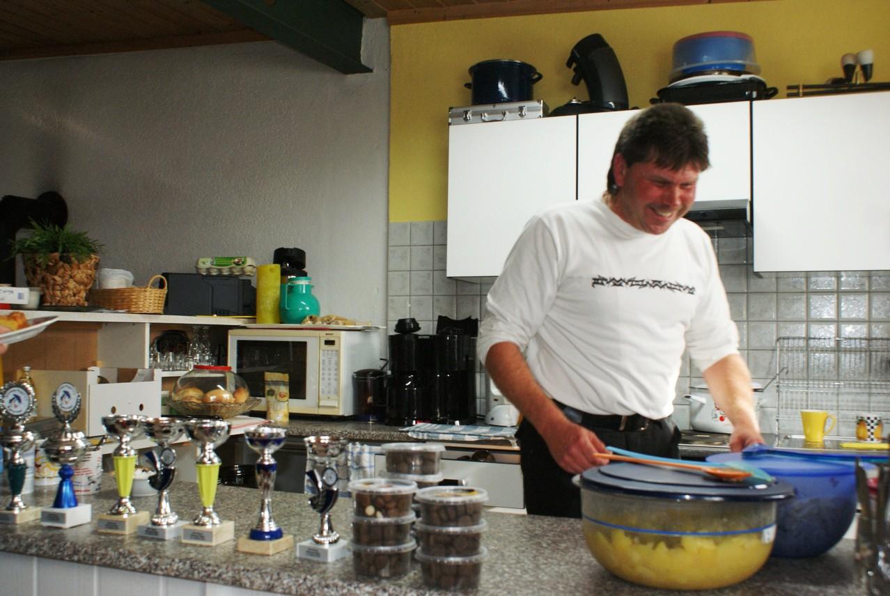 ... der Küchengott!!