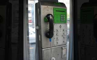 タイの公衆電話 壊れていることが多いので気をつけること