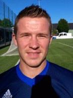 Stefan Rupprecht erzielte zwei Treffer gegen den Tabellensechsten