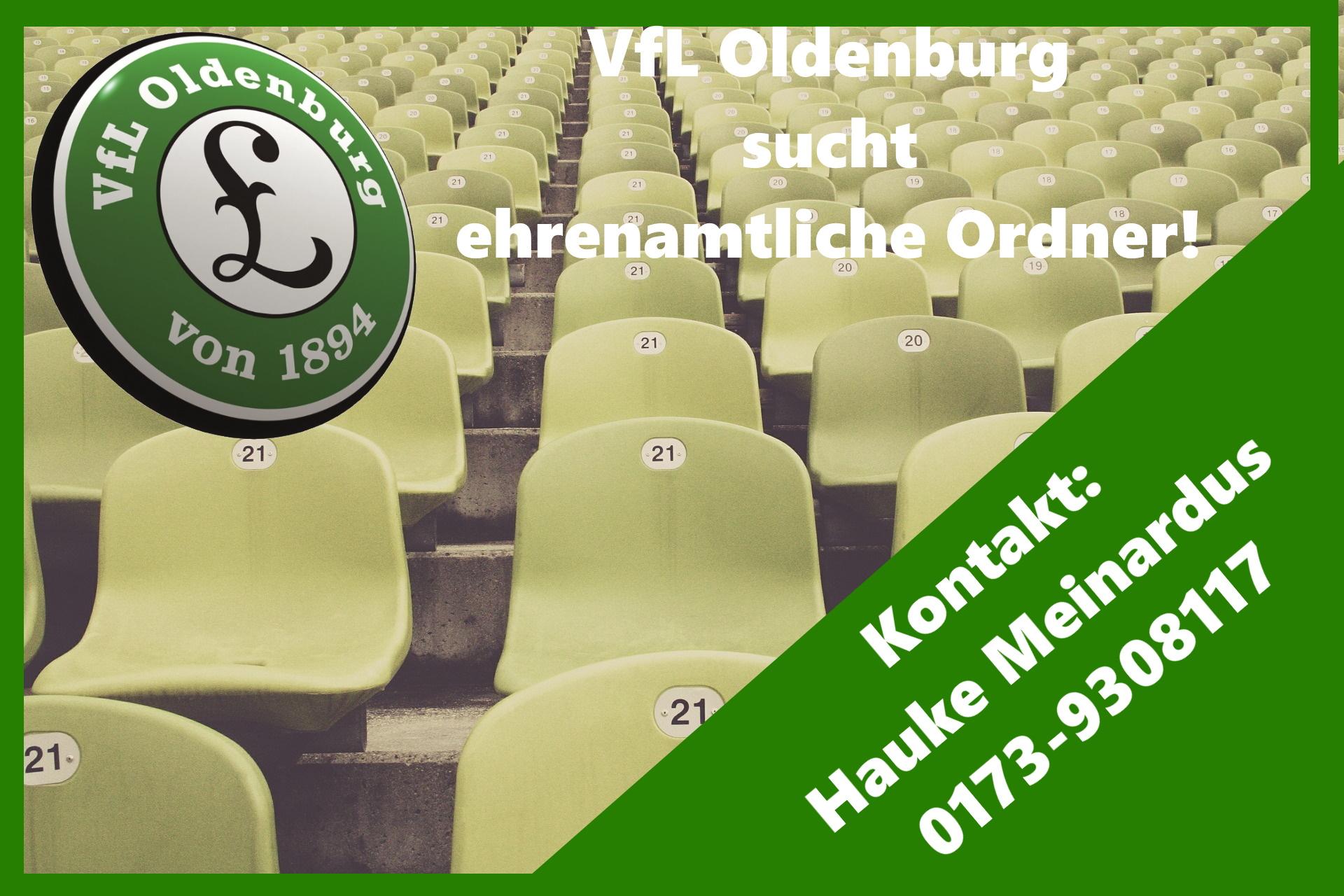 VfL Oldenburg sucht ehrenamtliche Ordner