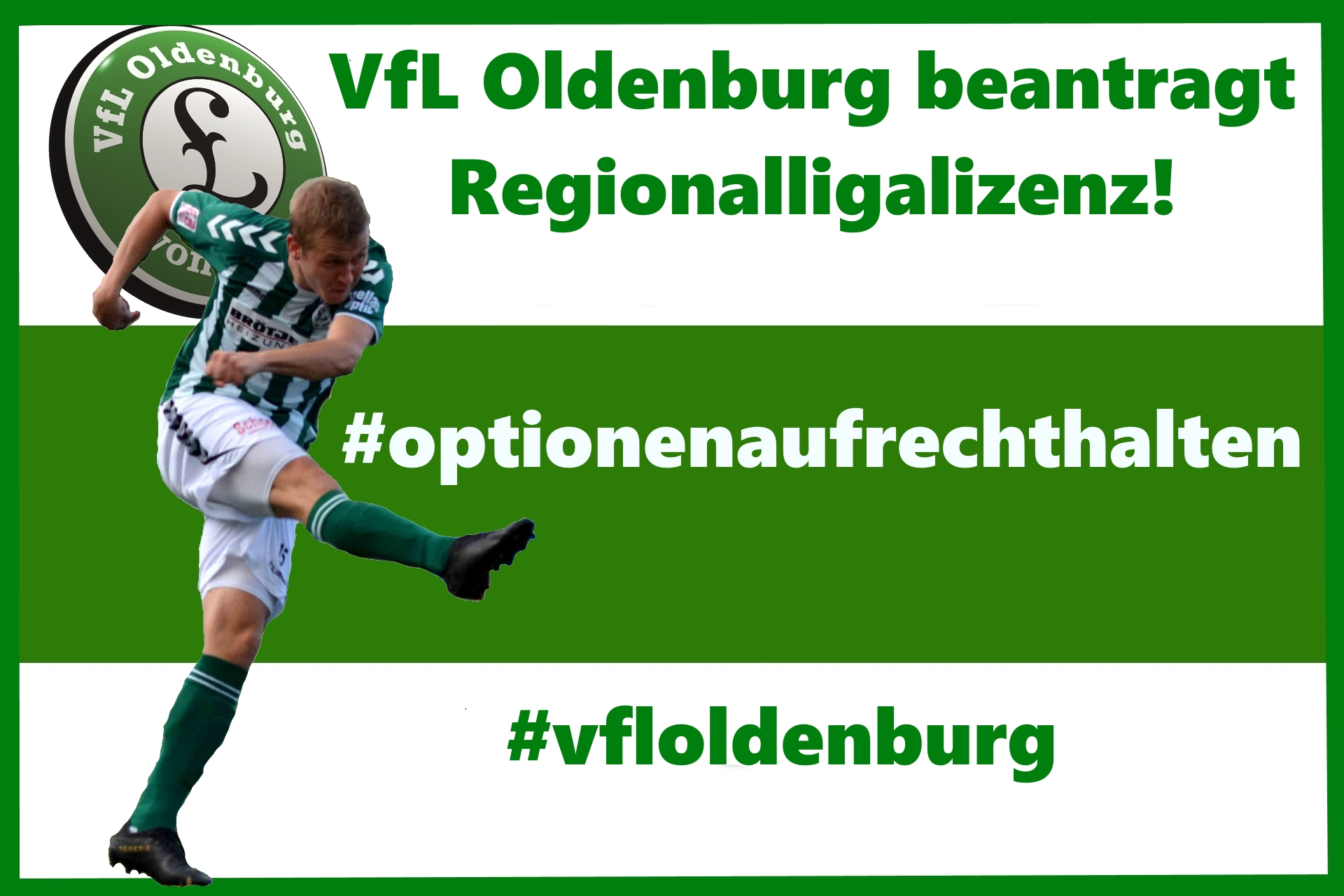 VfL Oldenburg stellt Antrag auf Regionalligalizenz