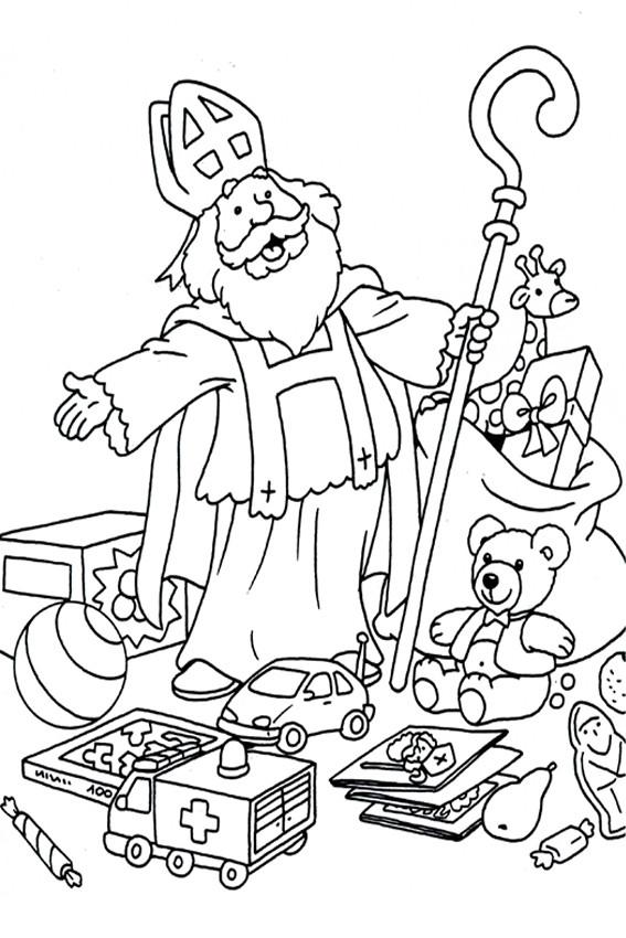 Sint en speelgoed