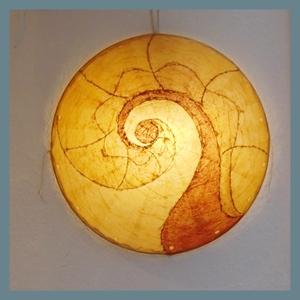 Papierlampe von Anke Teichert