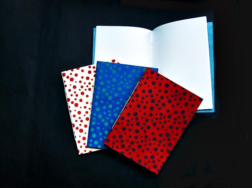 Schreibheft fadengeheftet, Umschlag aus Baumwoll-Mischfaser-Papier