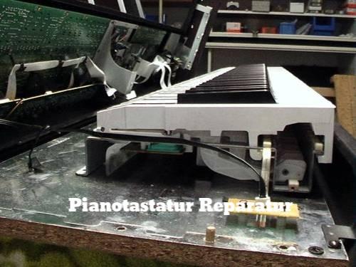 Tastatur eines E-Pianos