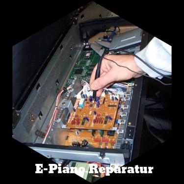 Messungen am E-Piano