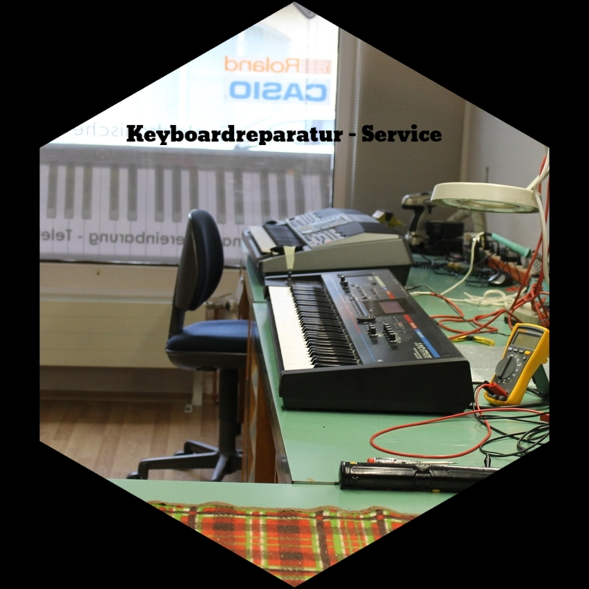 Synthesizer-Reparatur