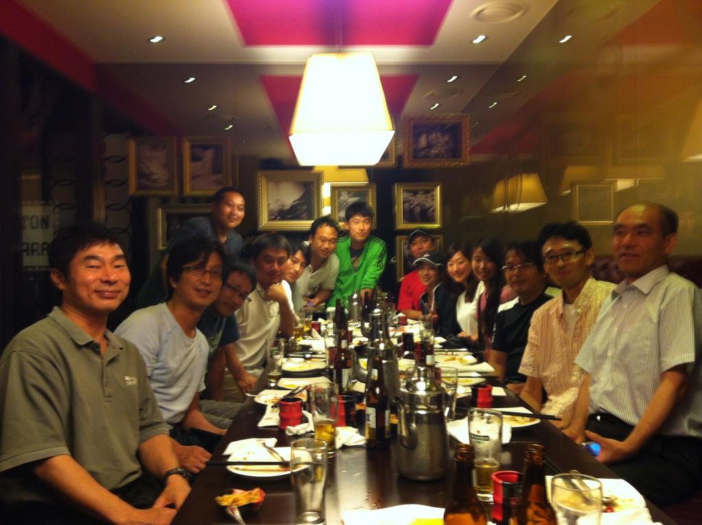 2012年7月 イテウォン中華料理★