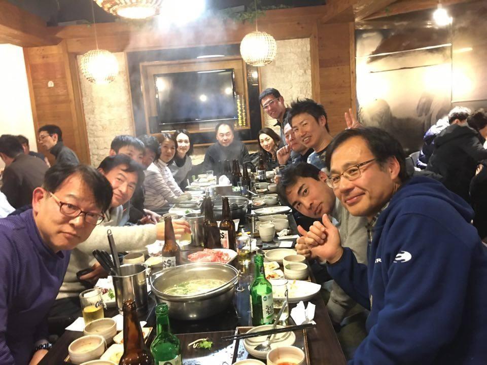 サラム会・ローン親善試合 懇親会 @ 샤 브로.com in 2015.12.19