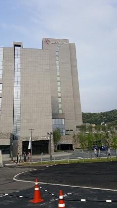 2016年合宿で泊まった京畿道 楊平郡にあるホテル「BLOOM VISTA」