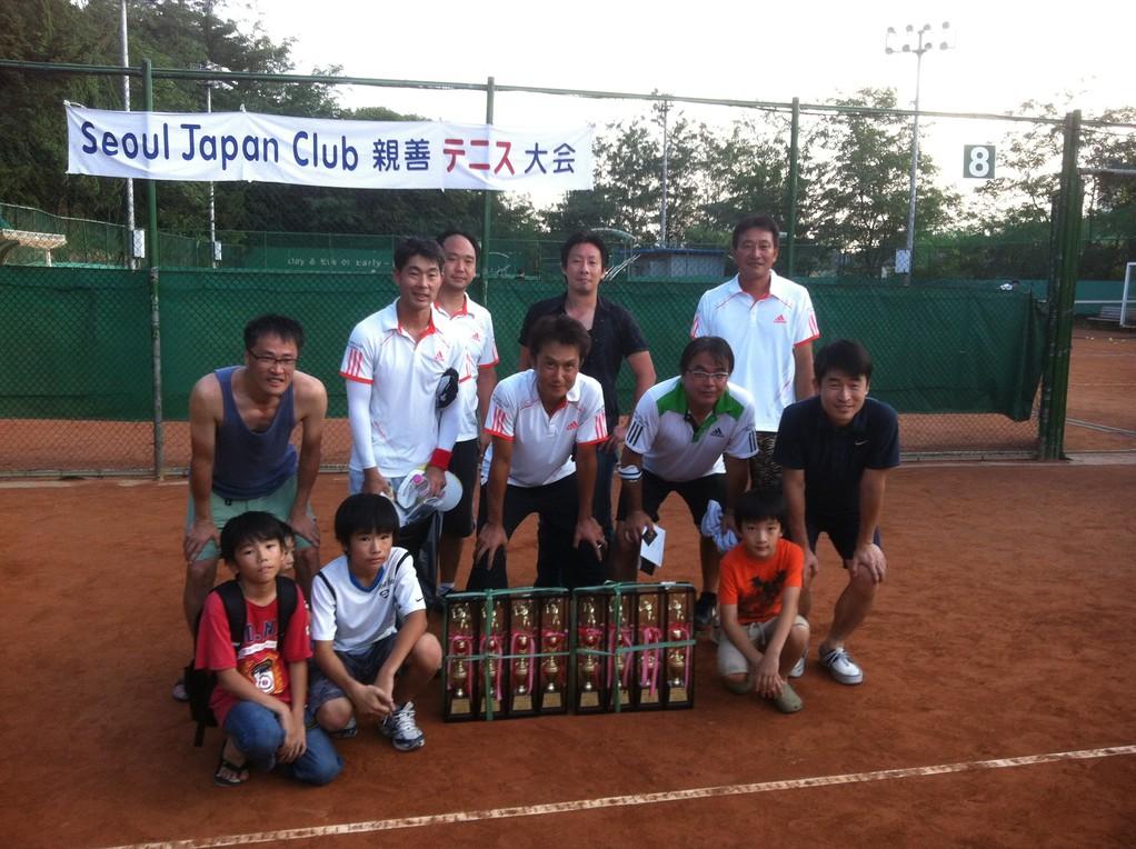 2012年8月26日 チーム志水優勝おめでとうございます!チーム四元もお疲れさまでした♪