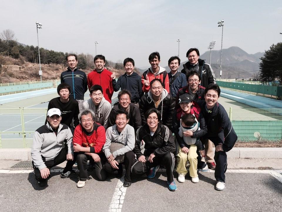 江原道で送別テニスピクニック in 春川!! (2015年3月末)