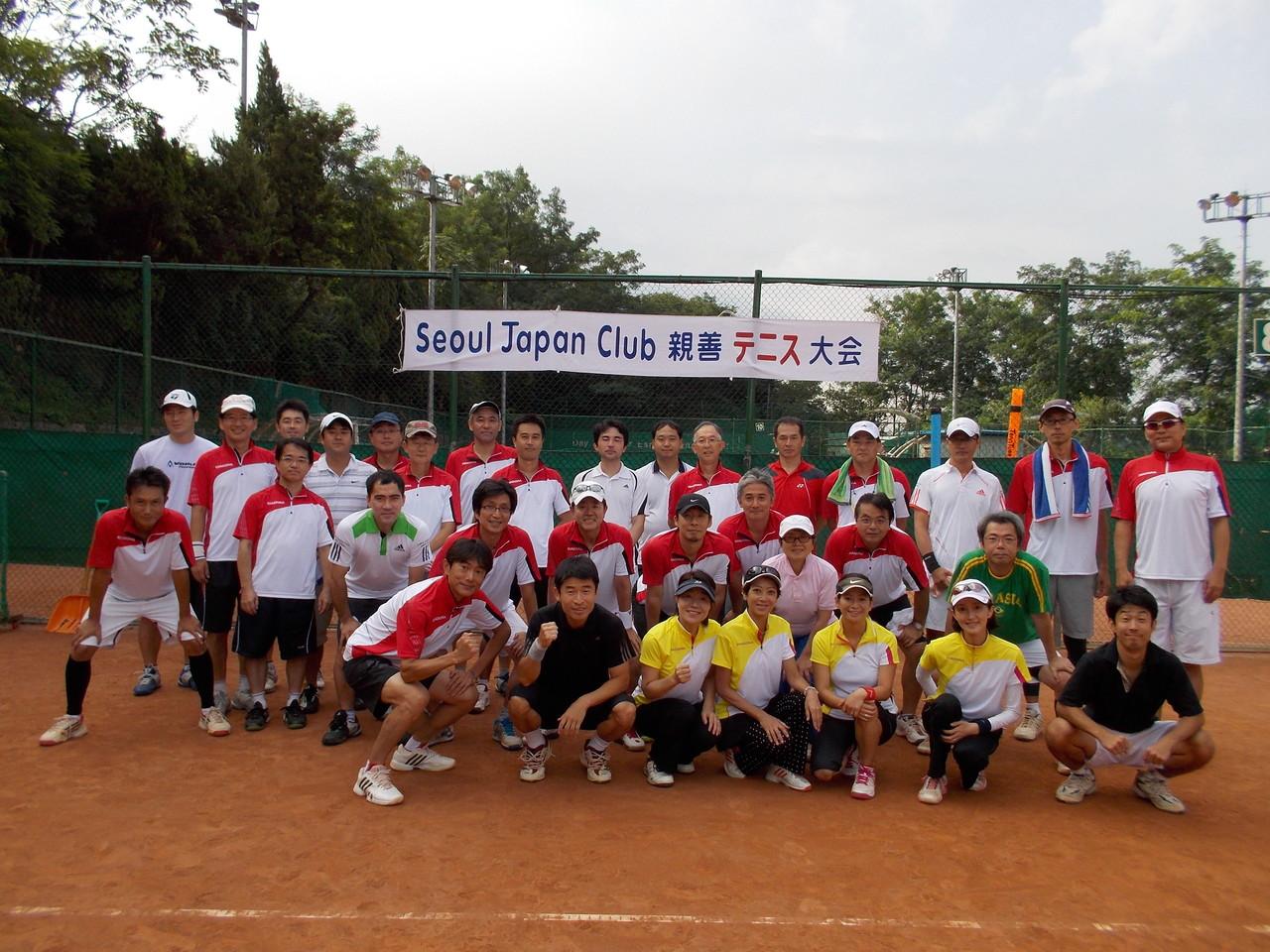 2013年SJCテニス大会開催