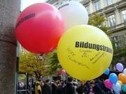 Luftballon mit Aufschrift: Bildungstraum