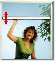 Fenstertürrollo - optimal als Insektenschutztüren
