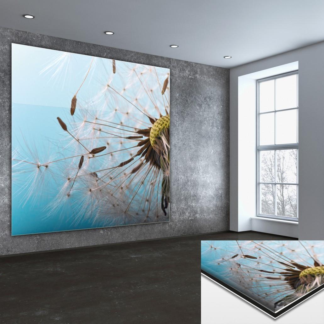 Acrylglasplatte mit Druck
