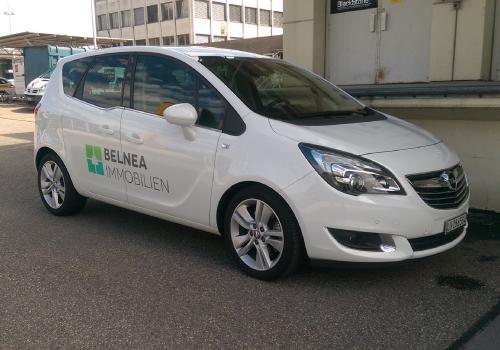 Fahrzeugwerbung für KMU