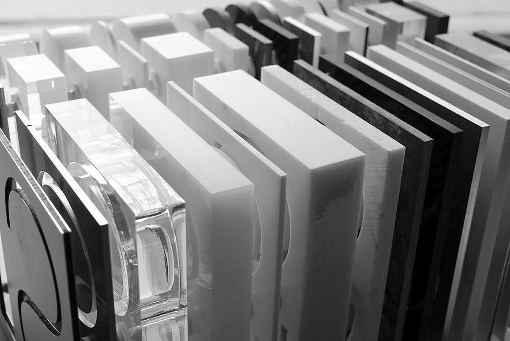 Material für CNC Fräsbuchstaben