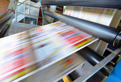 Wir drucken: Breifpapier, Flyer, Postkarten, Kuvert, Broschüren u.v.m.
