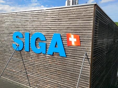SIGA AG Ruswil Fassadenbuchstaben in 3D