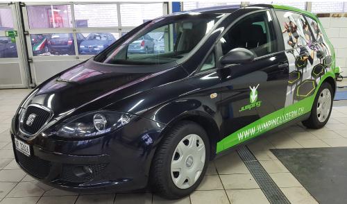Fahrzeugbeschrifung für KMU