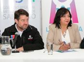 Intendente Claudio Orrego y Alcaldesa Claudia Pizarro - www.pintana.cl