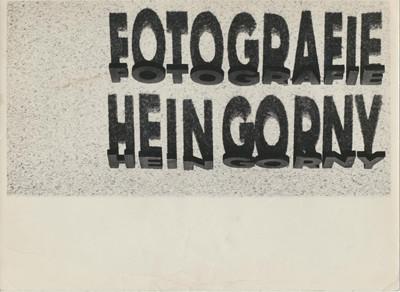 Hein Gorny (1904-1967)  - Untitled 1930s  - Gelatin silver print - 11,7 x 22,9 (18,0 x 24,0) cm - © Hein Gorny/Collection Regard