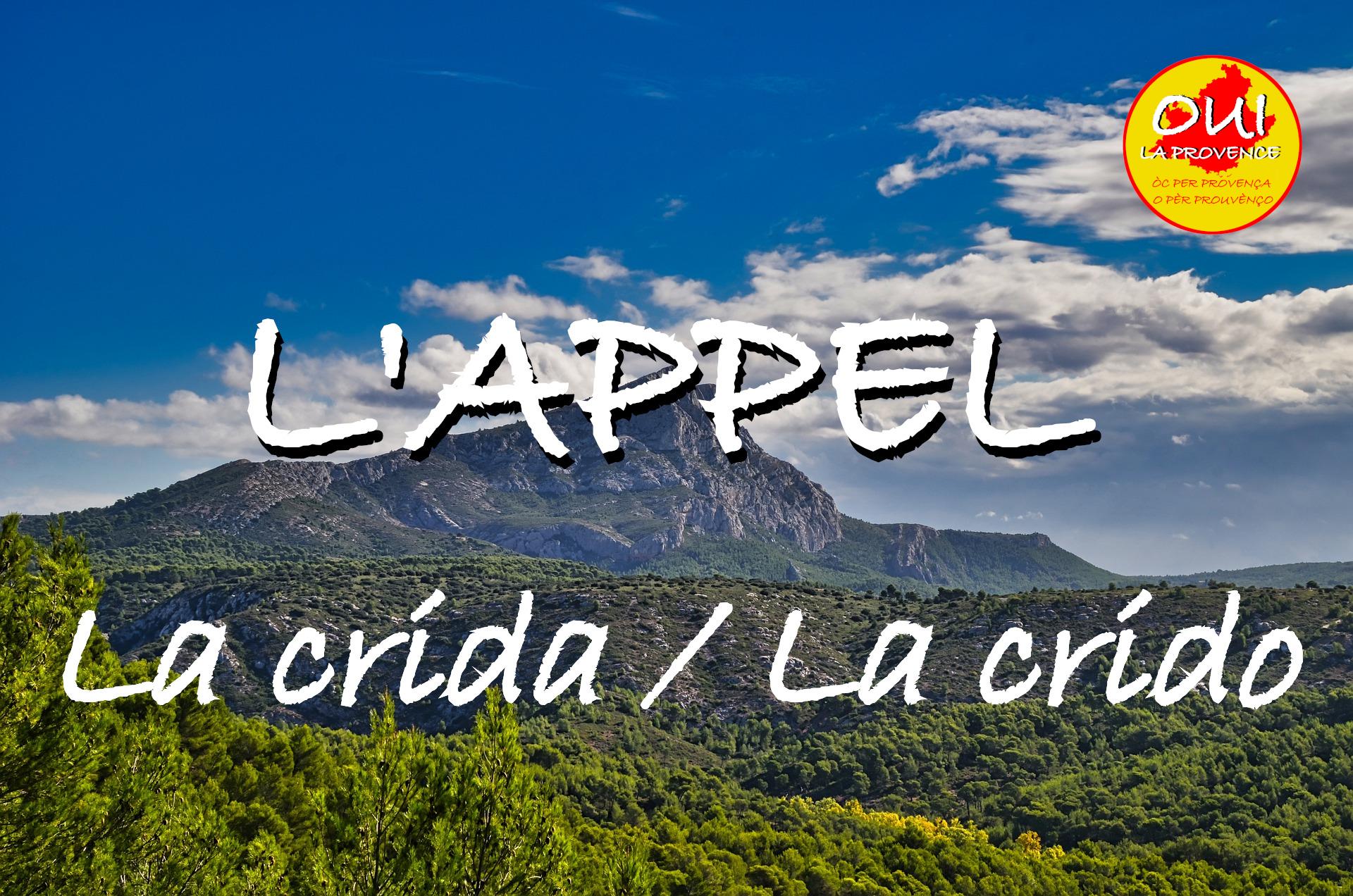 L'appel des régionalistes pour les élections régionales en Provence-Alpes-Côte d'Azur