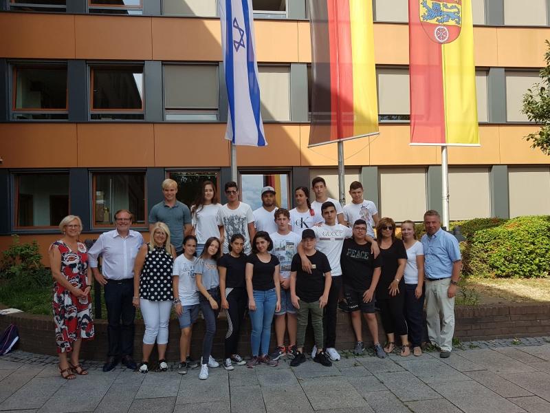 Besuch beim Landkreis Göttingen mit Landrat Bernhard Reuter