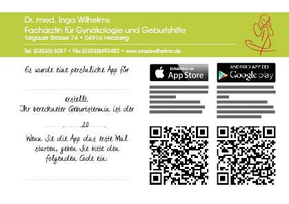 Bbyglück App-Karte