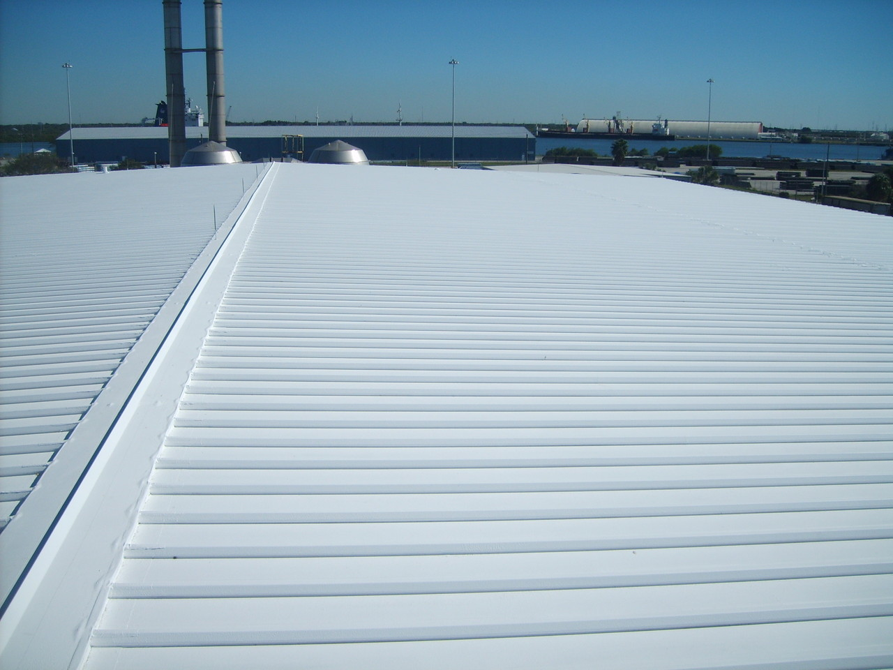 Hillsborough County - Waste Water Treatment Plant Roof