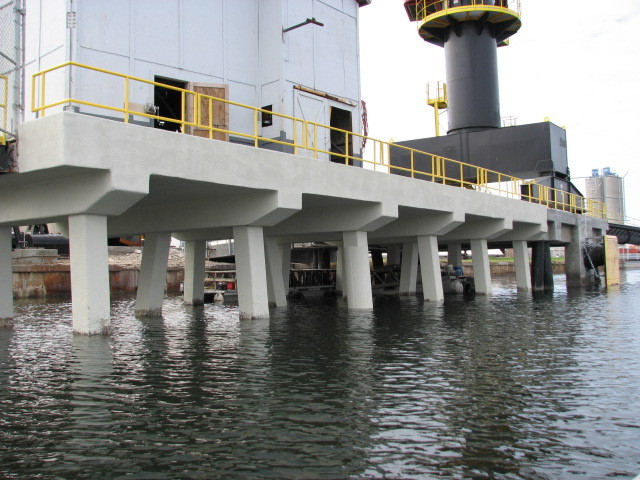 Kinder-Morgan Port Sulfur - Loading Dock Rebuilt