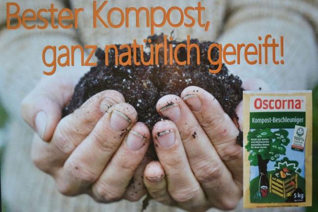 Bester Kompost, ganz natürlich gereift! - Oscorna -  Wolfis Gartenmarkt