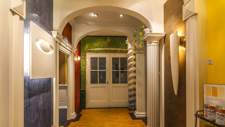 Eingangsbereich Ausstellung