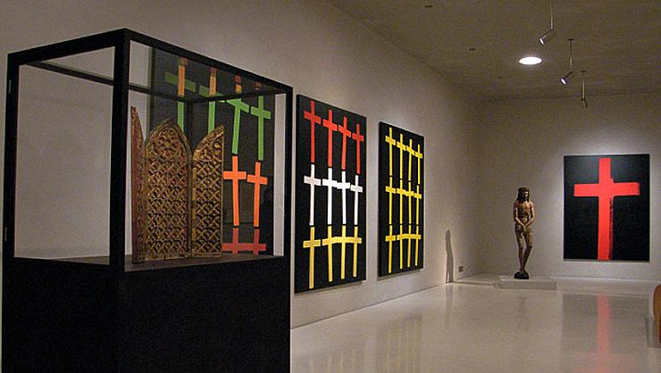 YOSIMA-Lehm-Designputz im Kolumaba Museum