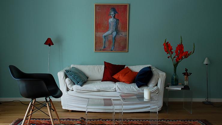 Raumgestaltung mit Kreide Emulisionfarben