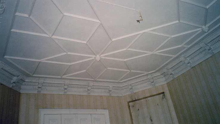 Wie im Dörnröschen Schlaf konnte dieser Raum ohne Renovierungen unbeschadet überstehen