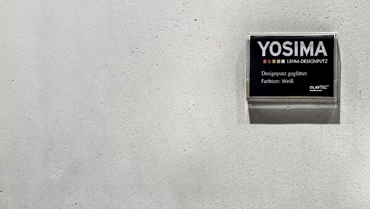 Oberfläche YOSIMA geglättet