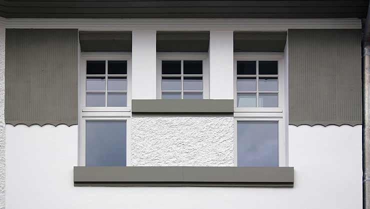 Restaurierung, Rekonstruktion und Sanierung einer Jugendstilfassade
