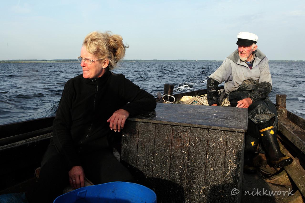 Arno Gössel, Fischer, Insel Poel