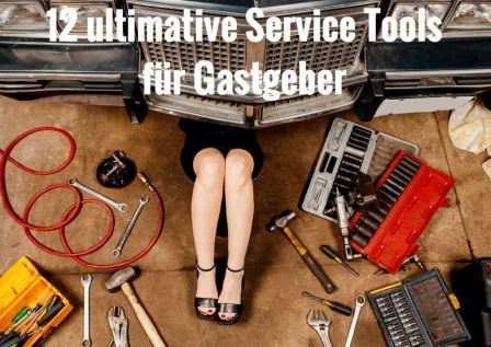 12 ultimative Service Tools; Service Experts; Edith Roebers