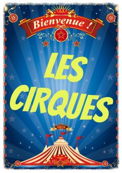 les cirques de noel pour les CE