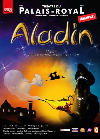 Aladin au théatre du Palais Royal décembre 2016 Spectacles de noël