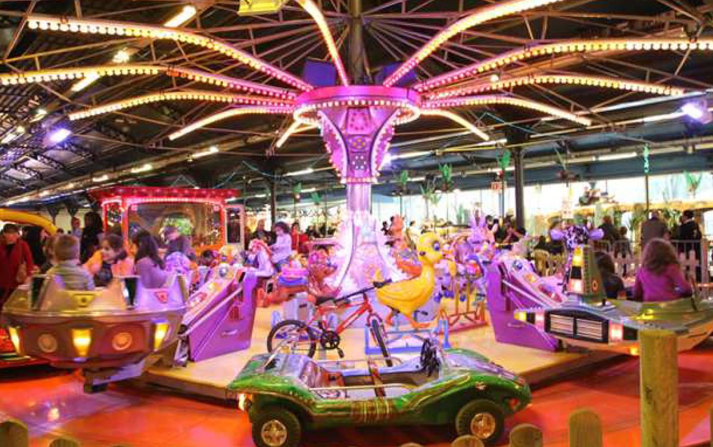 Fete foraine de noel toutes les attractions 2016