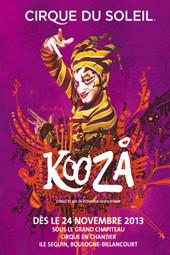 cirque du soleil KOOZA à PARIS en 2013
