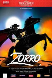Zorro au Théatre des Variétés 2014