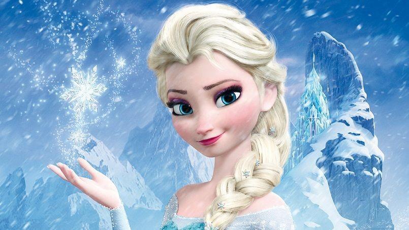 La reine des neiges dans disney sur glace 2015
